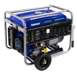 Gerador a Gasolina 7.2kva 7200w 115/230v 60hz mono 4t Partida Eletrica