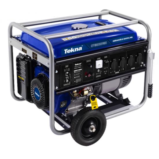 Gerador a Gasolina 7.2kva 7200w 115/230v 60hz mono 4t Partida Eletrica Promo
