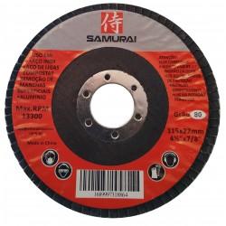 """Disco Flap Caixa Com 10 unidades Grão 40 115x22.23mm 4¹/²"""" x 7/8"""""""