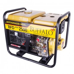 Gerador Diesel Buffalo 2kVA Mono 5 hp Part. Manual BFD 2500